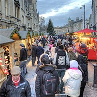 Oxford at Christmas Time